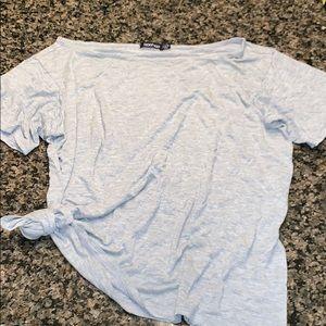Boohoo gray stretchy T-shirt 6